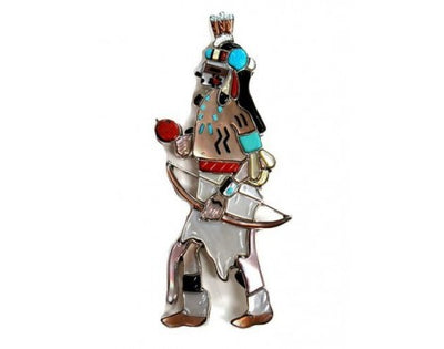 Load image into Gallery viewer, Andrea Lonjose, Kachina Collection, Male Apache Dancer