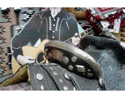 Load image into Gallery viewer, Gene Autry Parade Saddle, Attributed to Edward Bohlin