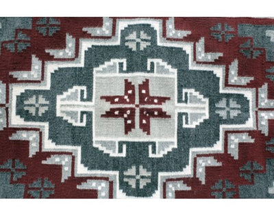 Load image into Gallery viewer, Nora Mix, Gando Red, Navajo Handwoven, 31 1/2'' x 50''