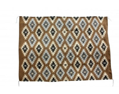 Load image into Gallery viewer, Emma Bahe, Eye Dazzler Rug, Navajo Handwoven, 53'' x 72''