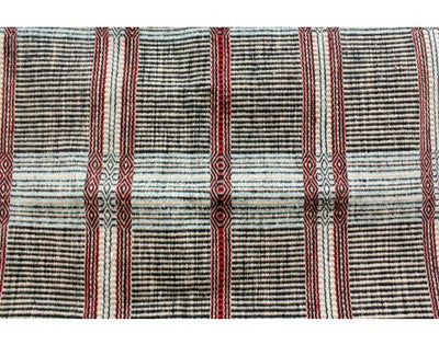 Load image into Gallery viewer, Lucy Wilson, Two faced Saddle Blanket, Navajo Handwoven, 32'' x 40''