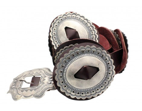 Hemerson Brown, Phase One Concho Belt, Sterling Silver, Navajo Handmade,