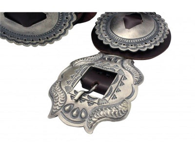 Load image into Gallery viewer, Hemerson Brown, Phase One Concho Belt, Sterling Silver, Navajo Handmade,
