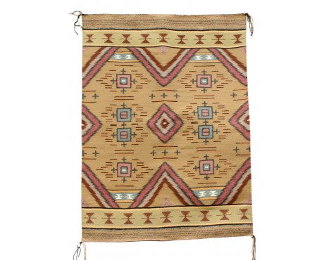 Gloria Begay, Navajo Chief Revival, Handwoven, 32