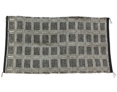 Load image into Gallery viewer, Mary Begay, Double Weave Saddle Blanket, Navajo, Handwoven, 57.5 in x 31 in