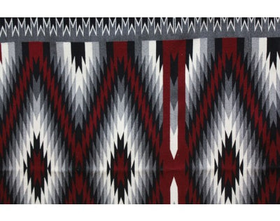 Load image into Gallery viewer, Gabriel Benally, Eye Dazzler Rug, Navajo Handwoven, 95 in x 71 in
