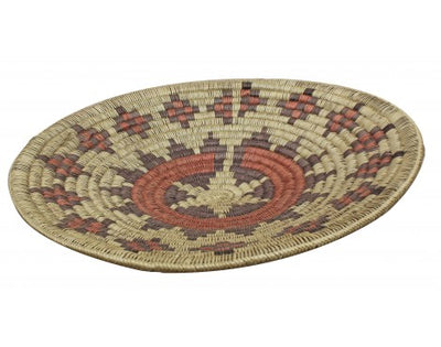 Load image into Gallery viewer, Navajo Handmade Ceremonial Basket, Large, 24.5 in x 24.5 in