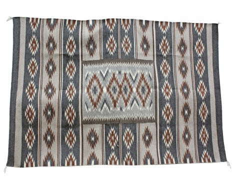 Zonnie Deschine, Chinle Rug, Navajo Handwoven, 73 in x 50 in