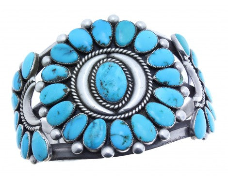 Antique Collection, Zuni Cluster Bracelet, Circa 1960s, Lone Mountain
