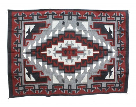 Ella William, Klagatoh Ganado Red, Navajo Handwoven, 64