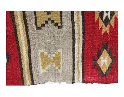 "Load image into Gallery viewer, Unknown Artist, Chinle Rug, Navajo Handwoven, Circa 1920, 45 1/4""x 74"""