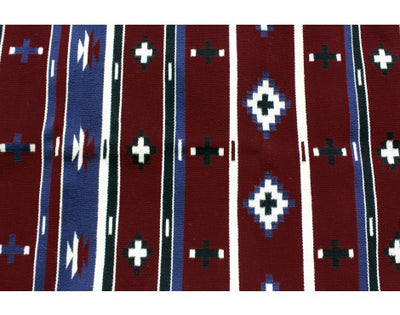 Load image into Gallery viewer, Bessie Yazzie, Cheif Rug, Navajo Handwoven, 27 in x 67.5
