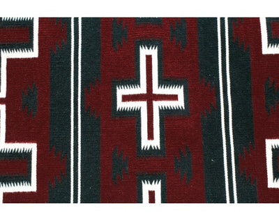 Load image into Gallery viewer, Zedrakah Thompson, Cheif Rug, Navajo Handwoven, 37.75 in x 23.75 in