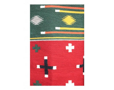 "Load image into Gallery viewer, Wanda Yazzie, German Town Revival, Navajo Handwoven Rug, 62"" x 28"""