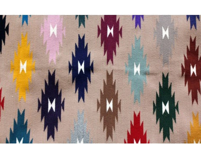 Load image into Gallery viewer, Millie Platero, Eye Dazzler Rug, Runner, Navajo Handwoven, 57 in x 24.5 in