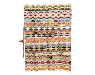 "Load image into Gallery viewer, Susie, Abigail Smallcanyon, Rug, Vegetal Dyes, Navajo Handwoven, 55"" x 78"""