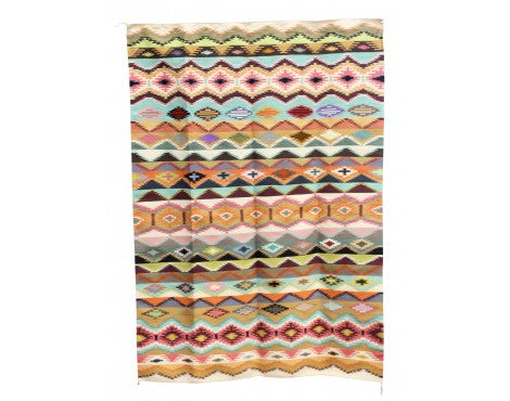 Susie, Abigail Smallcanyon, Rug, Vegetal Dyes, Navajo Handwoven, 55