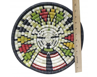 Load image into Gallery viewer, Regina Kagenvema, Hopi Coiled Plaque, Maiden, Handmade, 12 in