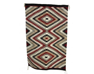 "Load image into Gallery viewer, Esther Benn, Eyedazzler, Navajo Handwoven, 36"" x 56"""
