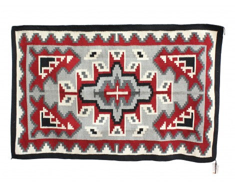Evelyn Woods, Klagetoh, Navajo Handwoven, 47