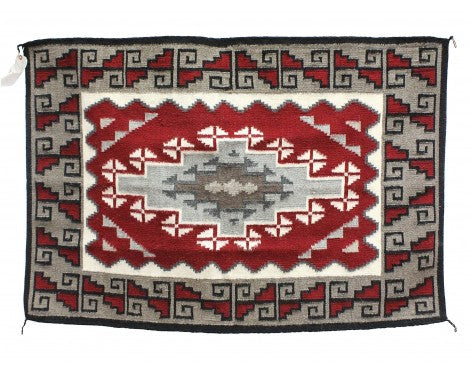 Evelyn Johnson, Ganado Red, Navajo Handwoven, 30 1/2