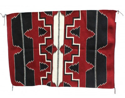 "Load image into Gallery viewer, Donald Yazzie, Navajo Feather Pictorial, Handwovn, 38"" x 57"""