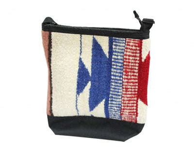 Load image into Gallery viewer, Medium Gallup Throw Handbag, Woven Rug, Navajo Made, Zipper Opening 14