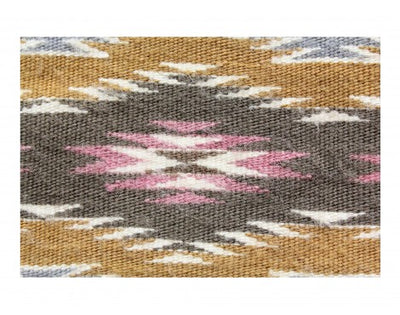 "Load image into Gallery viewer, Erma Morgan, Wide Ruins, Navajo Rug Handwoven, 37"" x 51"""