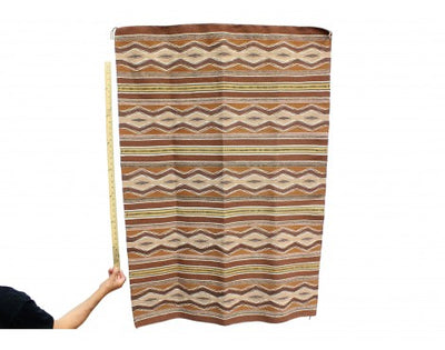 "Load image into Gallery viewer, Erma Francis, Wide Ruins Rug, Navajo Handwoven, 52"" x 37"""