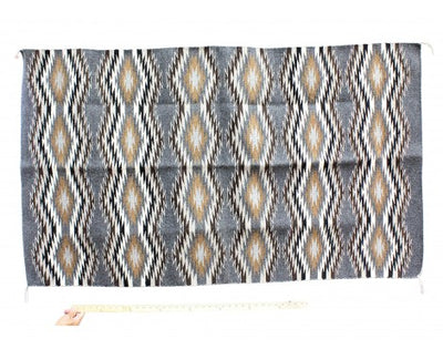 "Load image into Gallery viewer, Donald Woods, Eye Dazzler Rug, Navajo Handwoven, 35"" x 60"""
