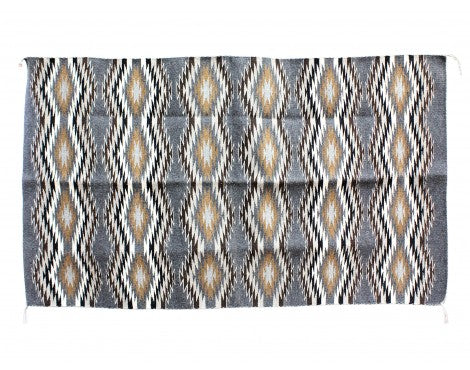 Donald Woods, Eye Dazzler Rug, Navajo Handwoven, 35