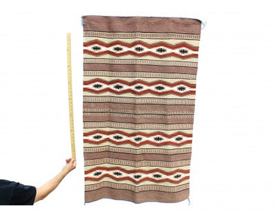 "Load image into Gallery viewer, Betty Clyde, Wide Ruins, Navajo Rug Handwoven, 33 1/2"" x 53 1/2"""