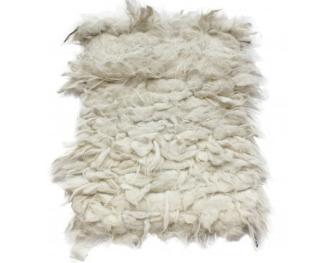 Marie Sherpaw, Tufted Weave, Wooly Rug 36