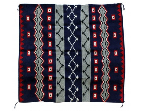 Winnie Yazzie, Navajo Chief's Design, Navajo Hand Woven, 47