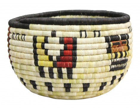 Irene Lomayakewa  (interview), Hopi Coil Basket, Corn Maiden, 10
