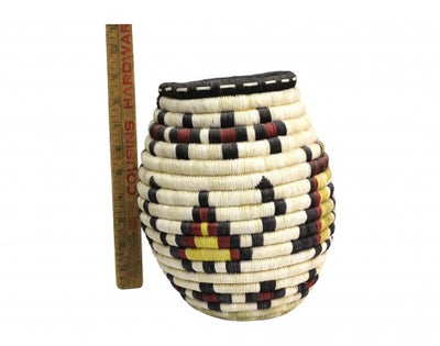 "Load image into Gallery viewer, Rhetta Lou Adams, Hopi Coil, Hopi Design, 8"" x 9 1/4"""