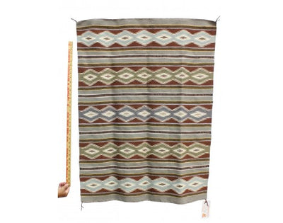 "Load image into Gallery viewer, Marlynn Francis, Wide Ruins Rug, Navajo Handwoven, 33 1/2"" x 44"""