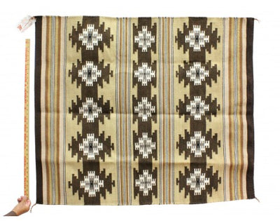 "Load image into Gallery viewer, Rose Tsinnie, Chinle Rug, Navajo Handwoven, 42 1/2"" x 49 1/2"""
