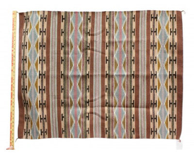 "Load image into Gallery viewer, Erma Francis, Wide Ruins Rug, Navajo Handwoven, 32"" x 43"""