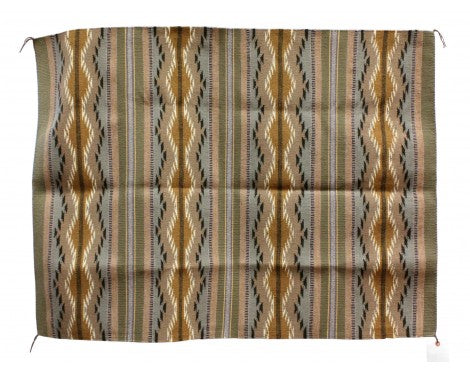 Anna Clyde, Wide Ruins Rug, Navajo Handwoven, 33 1/2