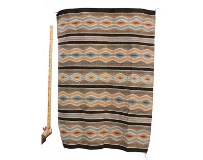 "Load image into Gallery viewer, Mary Francis, Wide Ruins Rugs, Navajo Handwoven, 35"" x 49"
