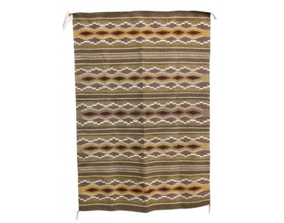 "Load image into Gallery viewer, Melvina Francis, Wide Ruins Rug, Navajo Handwoven, 34"" x 49"""
