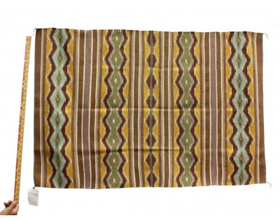 "Load image into Gallery viewer, Melvina Francis, Wide Ruins Rug, Navajo Handwoven, 34"" x 50 1/2"""