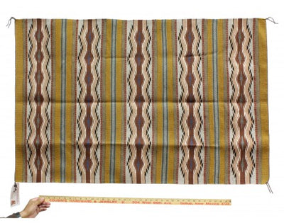 "Load image into Gallery viewer, Grace Nez, Wide Ruins Rug, Navajo Handwoven, 30 1/2"" x 47"""