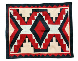 "Verla Begay, Navajo Chief Rug, Handwoven, 49""x 68"""