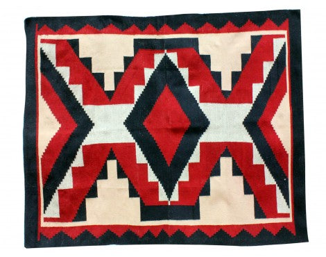 Verla Begay, Navajo Chief Rug, Handwoven, 49