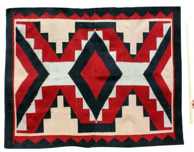 "Load image into Gallery viewer, Verla Begay, Navajo Chief Rug, Handwoven, 49""x 68"""