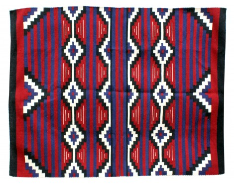 Zonnie Deschine, Navajo Chief Blanket, Handwoven, 53