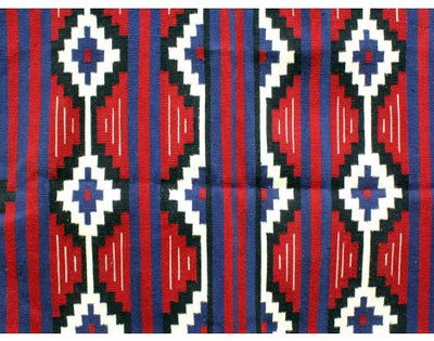 "Load image into Gallery viewer, Zonnie Deschine, Navajo Chief Blanket, Handwoven, 53""x 74"""