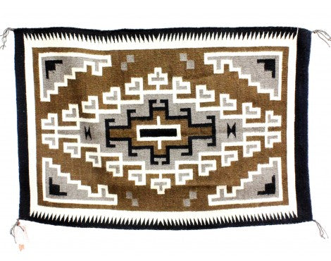 Lucy Simpson, Two Grey Hills, Navajo Handwoven, 27